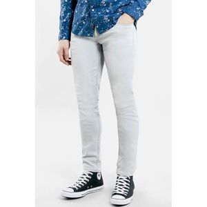 "Topman Stretch Skinny Jeans- Short (30"" inseam)"